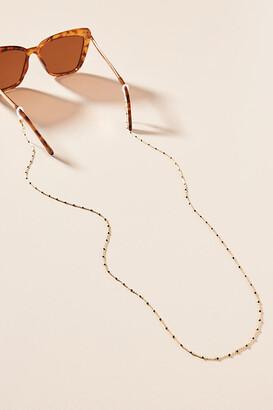 Anthropologie Jillian Beaded Sunglasses Chain By in Gold