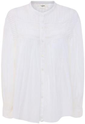 Etoile Isabel Marant Plaila Cotton Muslin Shirt