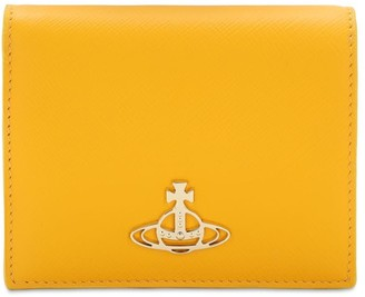 Vivienne Westwood Sofia Saffiano Leather Billfold Wallet