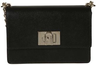 Furla Twist-lock Chain Strap Shoulder Bag