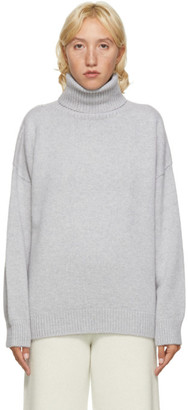 Arch The SSENSE Exclusive Grey Wool and Cashmere Turtleneck