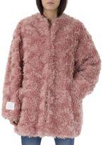 Stella McCartney Blush Fake Fur Coat