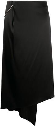 Alyx Draped Midi Skirt