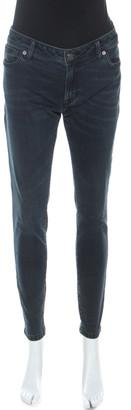 Burberry Indigo Blue Denim Low Rise Slim Fit Jeans M