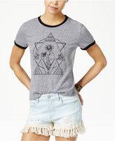Volcom Juniors' Rangle Me Ringer Graphic T-Shirt