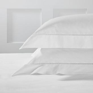 The White Company Arles Oxford Pillowcase, White, Super King
