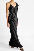 Diane von Furstenberg Asymmetric Ruffle Dress