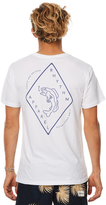 rhythm Catch Mens T Shirt White