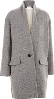 Etoile Isabel Marant Grey Herringbone Edilon Coat