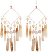Nakamol Pearl & Teardrop Dangle Earrings
