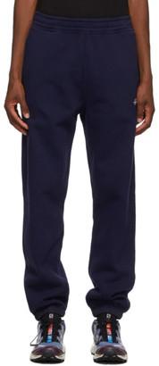 Stussy Navy Stock Logo Lounge Pants