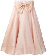 Milly Minis Bow Ball Skirt (Big Girls)