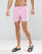 Brave Soul Bravesoul Retro Short Length Swim Short