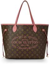 Louis Vuitton Pink Mauve Monogram Canvas Ikat Flower Neverfull MM