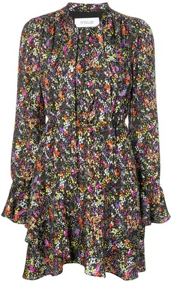 Derek Lam 10 Crosby Long-Sleeved Floral Dress