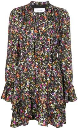 Derek Lam 10 Crosby Long-Sleeved Floral Dress