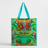 Green Santiago Paisley Insulated Tote Bag