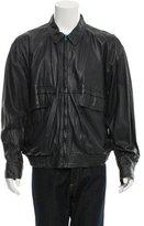Bally Leather Cargo Jacket