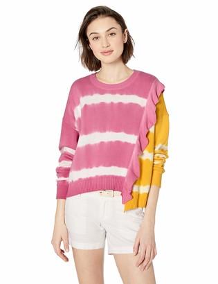 Parker Women's Jorja Asymmetrical Tie Dye Sweater