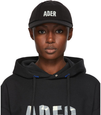 Ader Error Black Mask Cap