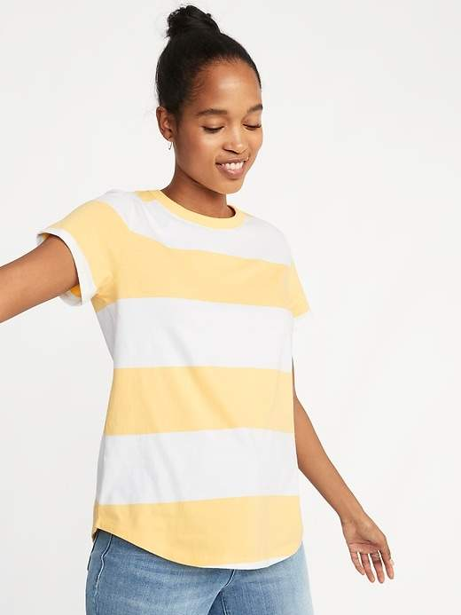 Old Navy EveryWear Rugby-Striped Tee for Women