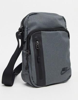 Nike Tech flight bag in grey