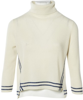 Band Of Outsiders White Cashmere Knitwear for Women
