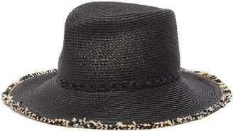 Eric Javits 'Mykonos' Fringed Fedora Hat