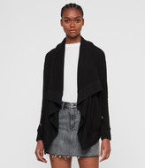 AllSaints Drape Brushed Jacket