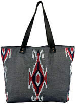 San Diego Hat Company Chambray Embroidered Tote