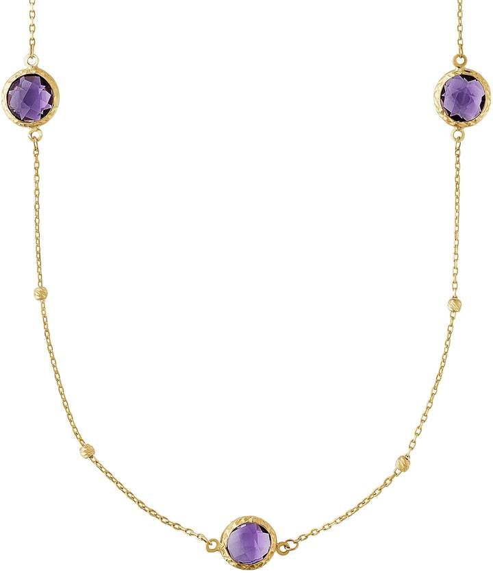 fe81532909e8e Amethyst Long Necklace - ShopStyle UK