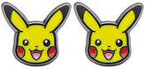Pokemon Enamel Pikachu Head Stainless Steel Stud Earrings