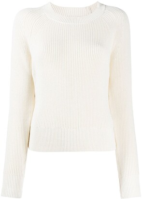 MICHAEL Michael Kors Ribbed Side Button Jumper