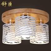 Leihongthebox Ceiling Lights lamp June ceiling lamps Korean light wooden lamp for Hall, Study Room, Office, Bedroom, Living Room,380*h250mm
