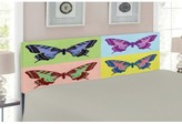 Butterfly Upholstered Panel Headboard East Urban Home Size: Twin
