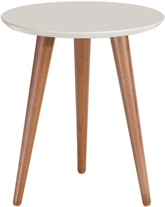 Manhattan Comfort Moore Round End Table