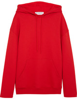 Balenciaga Cotton-jersey Hooded Top - Red