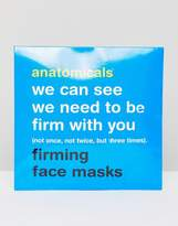 Anatomicals We Can See We Need To Be Firm With You - Firming Face Mask X 3