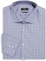 HUGO BOSS Men's Gordon Regular-Fit Cotton Dress Shirt