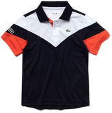 Lacoste Boys' Sport Tennis Colorblock Tech Piqu Polo
