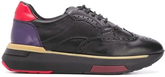 Fratelli Rossetti Perforated Oxford Sneakers