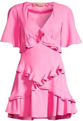 Maggie Marilyn Jones Ruffle Flare Dress