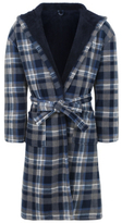 George Soft Touch Check Dressing Gown