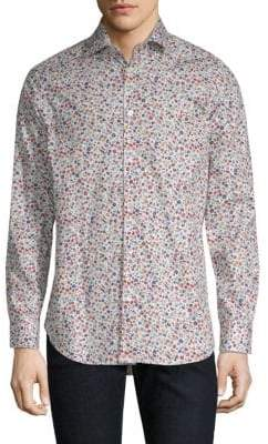 Paul Smith Multi-Floral Cotton Shirt