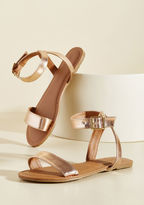 ModCloth Shining Is Everything Sandal in 8.5