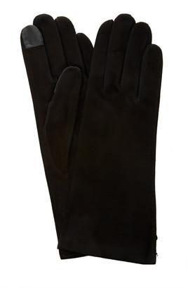 Maison Fabre Suede Lambskin Gloves