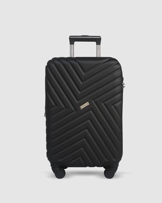 Jett Black Black Maze Carry On Suitcase