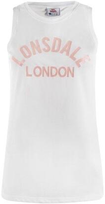 Lonsdale London Large Logo Vest Ladies