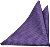 Notch Men's Pocket Square SONO - base with stripes in white and black