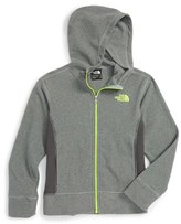 The North Face Boy's 'Glacier' Full Zip Hoodie